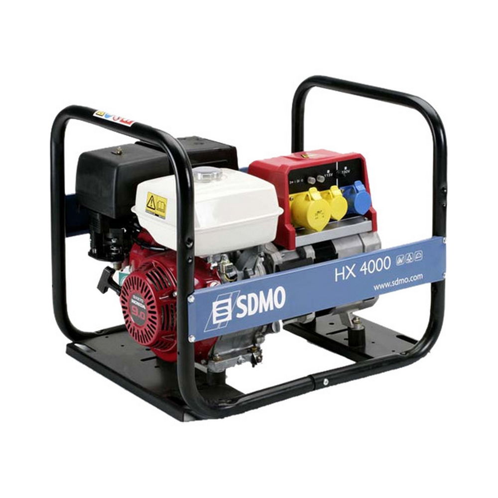 Sdmo Hx4000 Petrol Generator Honda Engine 3700w