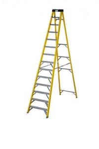 Step Ladder (12 tread) 8' 3 inch or (14 tread) 9' 11 inch