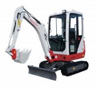 1.6 tonne Excavator (extending track)